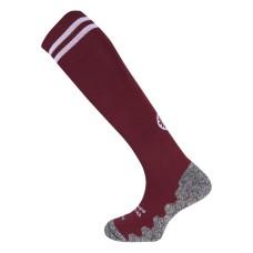 The Indian maharadja socks bordeaux