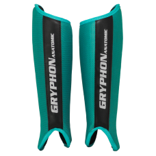 Gryphon shinguards Anatomic teal