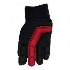 Glove indoor black/red