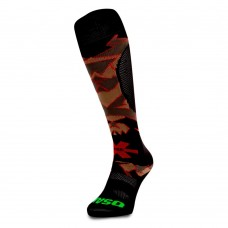 Osaka socks desert camo/red