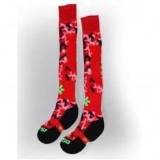Osaka socks red/camo
