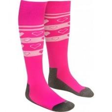 Socks pink harts