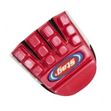 Glove mini bone protector red