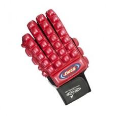 Glove super bone protector red