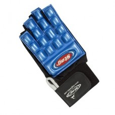 Glove bone protector blue